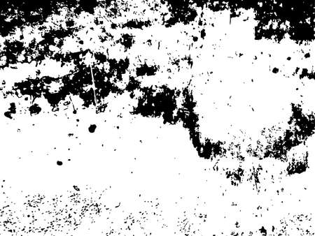 Grunge grainy dirty texture. Abstract urban distress overlay background. Vector illustration