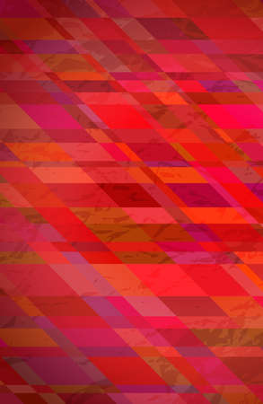 Abstract textured background with red colorful rectangles. Stories banner design. Beautiful futuristic dynamic geometric pattern design. Vector illustration