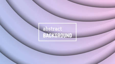 Abstract minimal line geometric background.  Violet line layer shape for banner, templates, cards. Vector illustration.