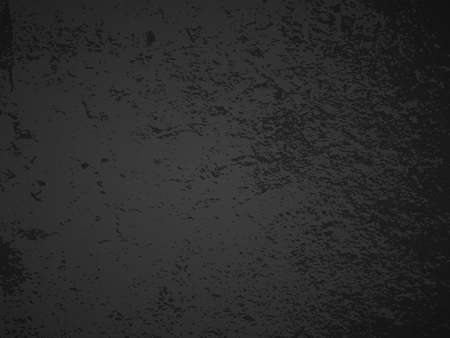Grunge grainy dirty texture. Dark scratched distress abstract urban overlay background. Vector illustration