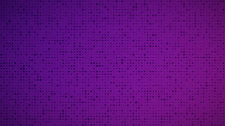 Abstract geometric gradient circles background. Purple dot background with empty space. Vector illustration.