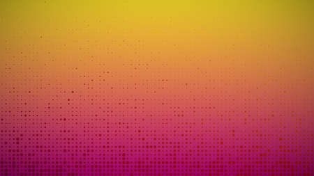 Abstract geometric gradient circles background. Orange dot background with empty space. Vector illustration.