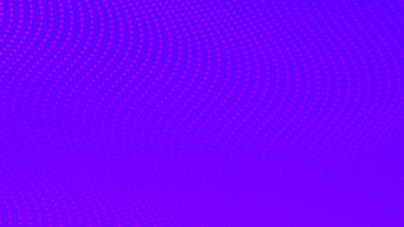 Halftone gradient background with dots. Abstract purple dotted pop art pattern in comic style. Vector illustration Banque d'images - 167017251