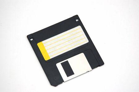 柔らかな影と白い背景の上のフロッピー ディスク 写真素材 - 609687