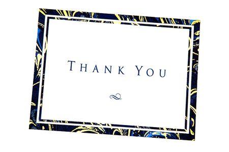 gratefulness: Gracias nota capturados utilizando la luz natural  Foto de archivo