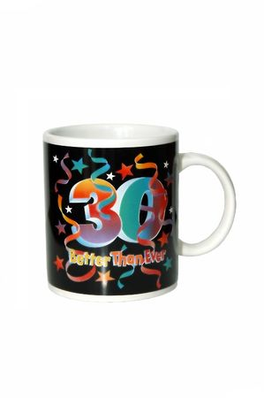 A mug to celebrate 30 year old tradition