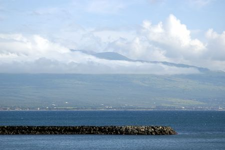 Tropical beach of Maui on a bright sunny day Stock Photo - 660966