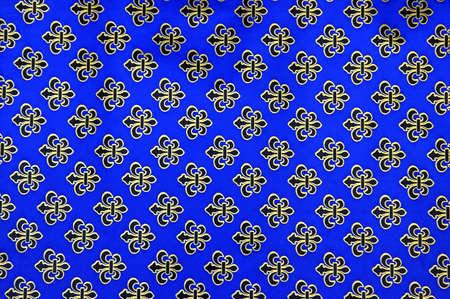 cadeaupapier: Close-up shot van een cadeaupapier te onthullen repeting patronen Stockfoto