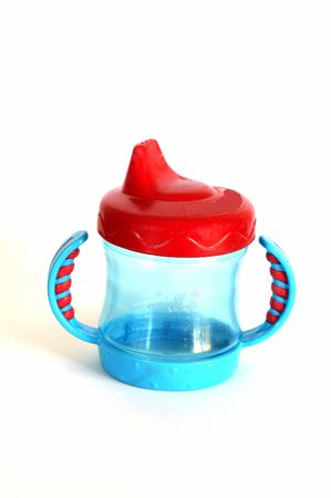 A Sippy Cup isolated against a white background