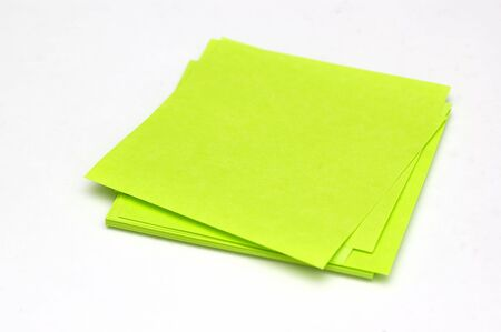 bulletinboard: Sticky notepad isolated against a white background