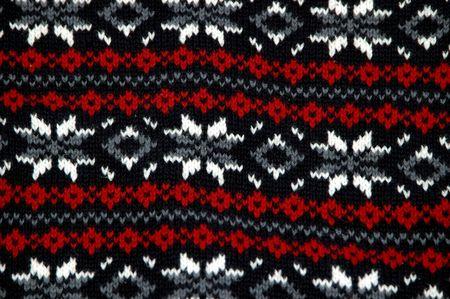 Close up of a beautifully woven sweater pattern Stock Photo - 780795
