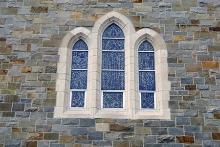 workship: Close up shot of an old church window