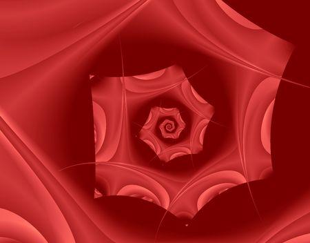 Fractal reproduction of Rose Petals