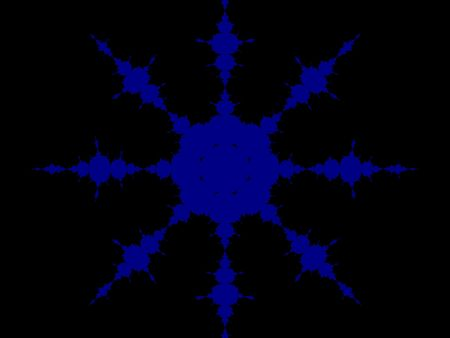 emanate: fractal generation of a flower