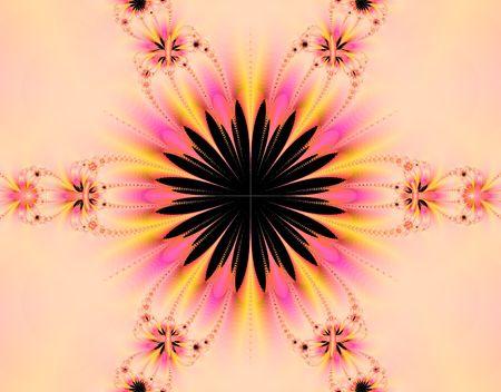 emanate: Fractal generation of Sunflower