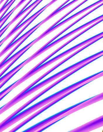 Fractal reproduction of pink curves back ground
