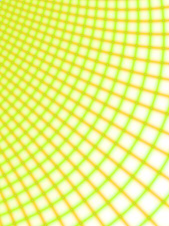 rendition: Fractal rendition of a colored grid back ground