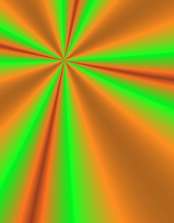 source: Fractal image of beams emancipating from a source Stock Photo