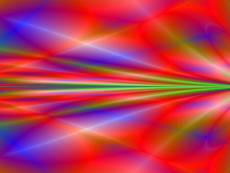 rendition: Fractal rendition of red ripples back ground Stock Photo