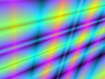 rendition: Fractal rendition of a multi colored shine back ground Stock Photo