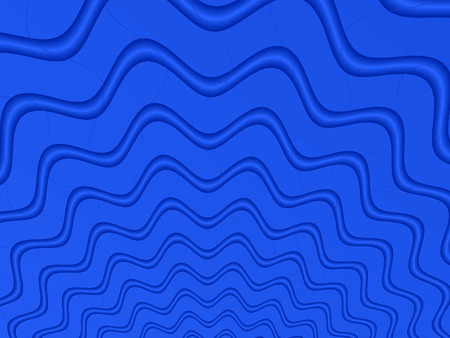 Fractal rendition of blue water ripple background photo