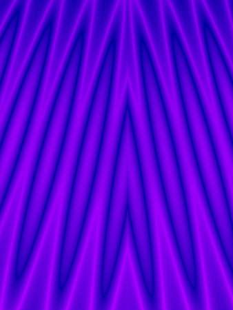Fractal rendition of a blue fluid back ground