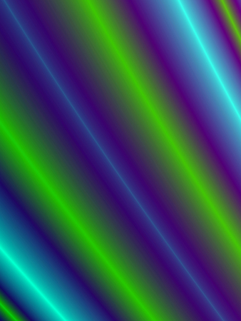 Fractal rendition of multiple colored curve back ground