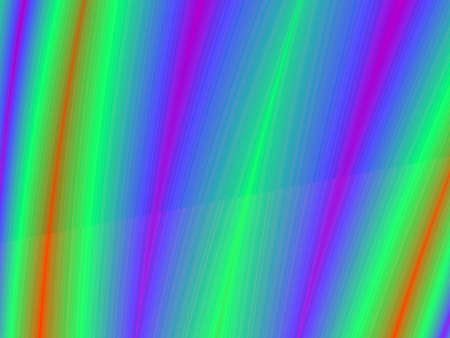 rendition: Fractal rendition of multiple colored lines Stock Photo