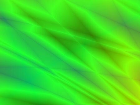 rendition: Fractal rendition of abstract green lines back ground