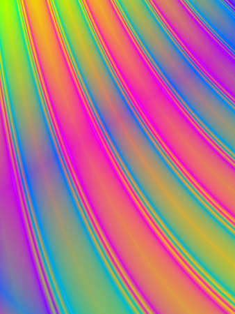 shinning: Fractal rendition of colored curves back ground