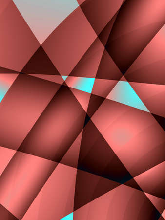 Fractal rendition of a red metal back ground Stock Photo - 1648924