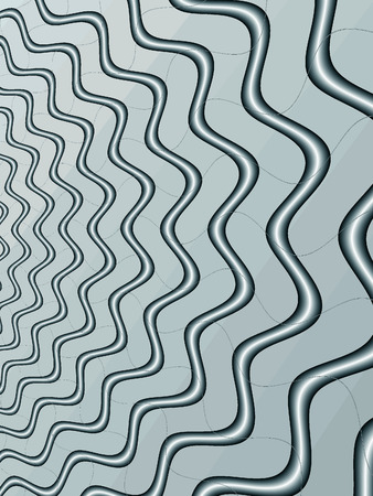 Fractal rendition of silver water ripple background photo