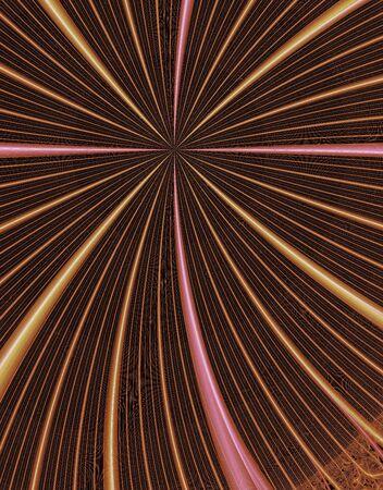 rendition: Fractal rendition of fireworks back ground