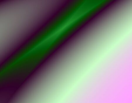 torrent: Fractal rendition of abstract green curves background Stock Photo