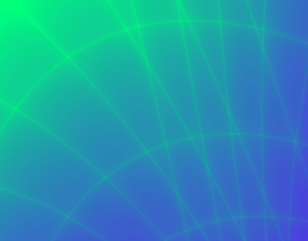 rendition: Fractal rendition of an green abstract net