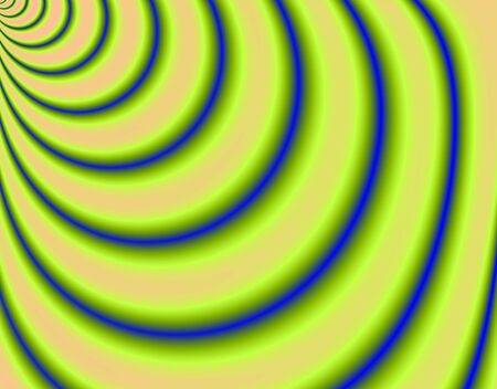 torrent: Fractal rendition of abstract Yellow curve background