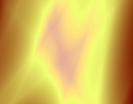 Fractal rendition of a candle flame  macro