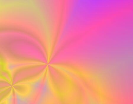 Fractal rendition of pink spring flowers Stock Photo - 1648822