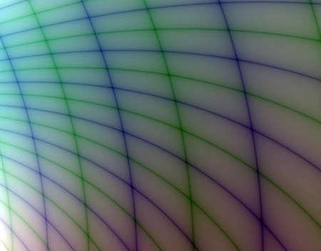 Fractal rendition of a blue net background photo