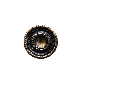 An old door knob isolated on a white back ground Stock Photo - 2276943