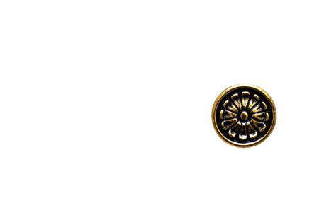 An old door knob isolated on a white back ground Stock Photo - 2276891