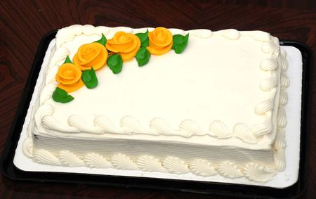 occasions: An white creamy cake for all occasions