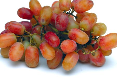 Close up shot of freshly picked grapes Stock Photo - 2346593