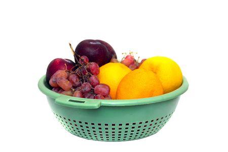 break fast: Fresh fruits an healthy break fast option