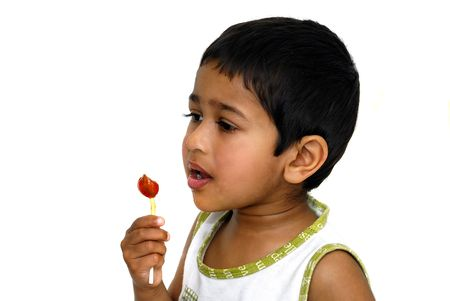 sweettooth: An young handsome kid with his lollypop