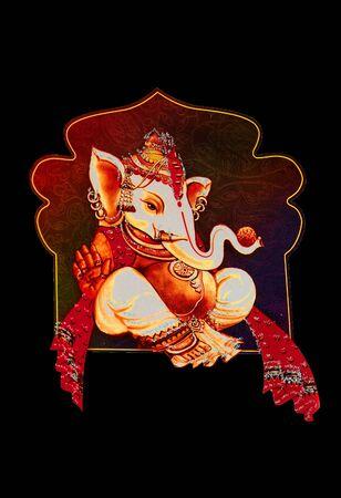 Beautiful picture of Ganesha an hindu god