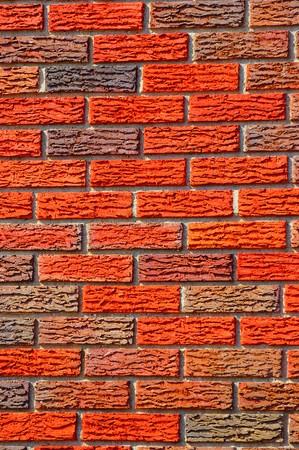 A beautiful background of freshly laid bricks Stock Photo - 3951098