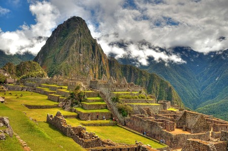Georgeous MAchu Picchu one of the modern seven wonders of the world Фото со стока