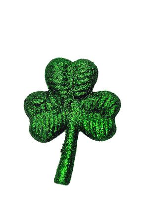 Four leafs clover symbol signifying ST Patrick day Stock Photo - 5120866