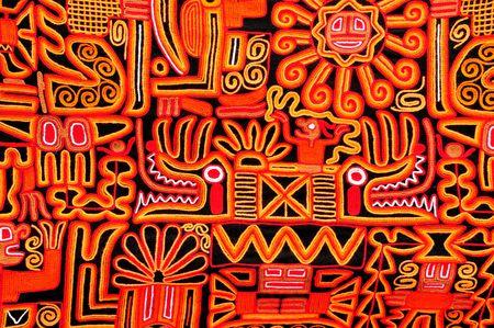 llama: Bella coperta con un design tipico peruviano  Archivio Fotografico